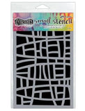Dylusions Stencils Stained Glass