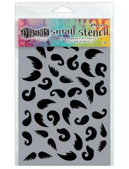 Dylusions Stencils Stash of 'Tache Stencil Dylusions Small 5 x 8 Inches