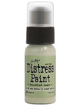 Tim Holtz Distress® Dabber Paint Bundled Sage, 1oz Paint Tim Holtz