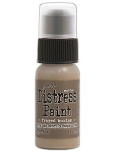 Tim Holtz Distress® Dabber Paint Frayed Burlap, 1oz Paint Tim Holtz