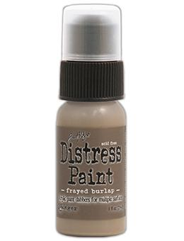 Tim Holtz Distress® Dabber Paint Frayed Burlap, 1oz
