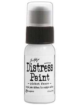 Tim Holtz Distress® Dabber Paint Picket Fence, 1oz