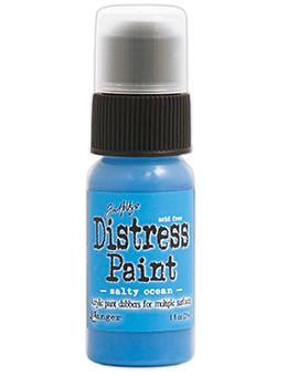 Tim Holtz Distress® Dabber Paint Salty Ocean Paint Tim Holtz