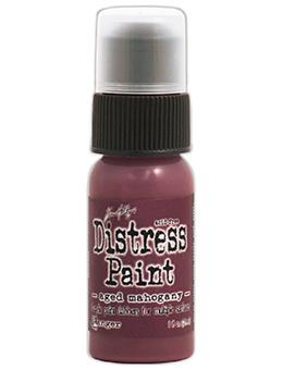 Tim Holtz Distress® Dabber Paint Aged Mahogany, 1oz. Paint Tim Holtz