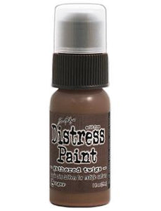 Tim Holtz Distress® Dabber Paint Gathered Twigs, 1oz Paint Tim Holtz
