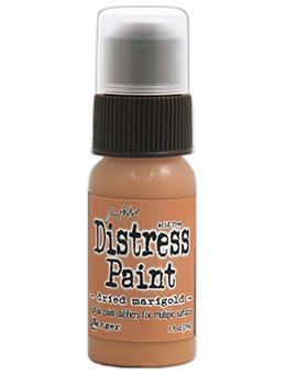 Tim Holtz Distress® Dabber Paint Dried Marigold, 1oz Paint Tim Holtz
