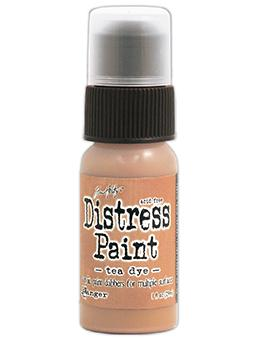 Tim Holtz Distress® Dabber Paint Tea Dye, 1oz Paint Tim Holtz