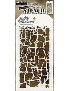 Tim Holtz Stampers Anonymous Layering Stencil - Decayed Stencil Tim Holtz Other