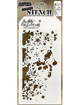 Tim Holtz Stampers Anonymous Layering Stencil - Grime Stencil Tim Holtz Other