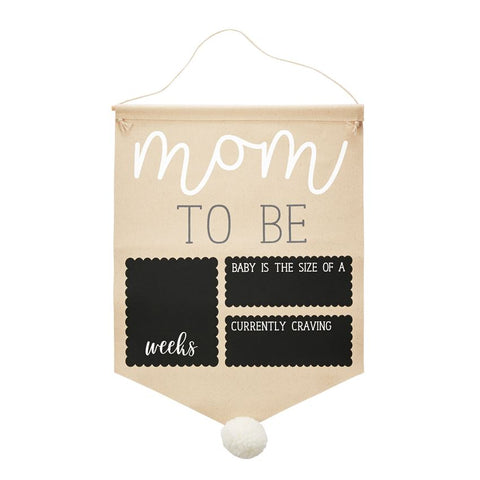 Mudpie Pregnancy Photo Canvas