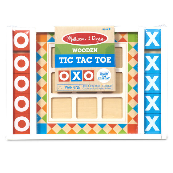 Wooden Tic Tac Toe Board