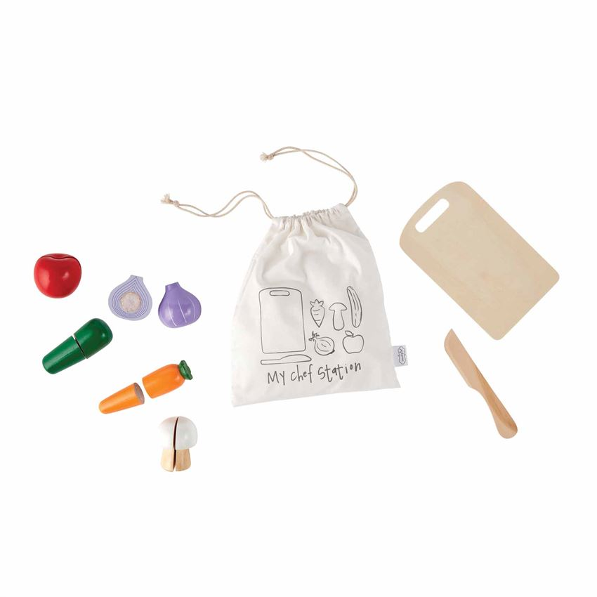 Mudpie- Chef Station Wood Toy Play Set