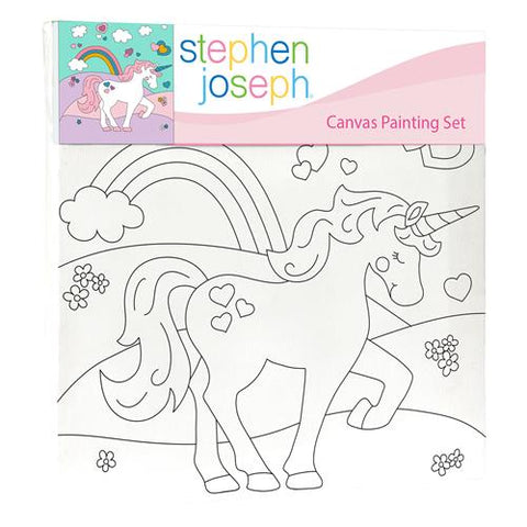 Stephen Joseph - Canvas Painting Set