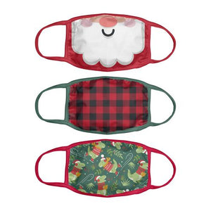 Stephen Joseph 3 Pack Christmas Mask