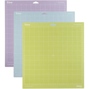 "Cricut Adhesive Back Cutting Mats 12""X12"" 3/Pkg"
