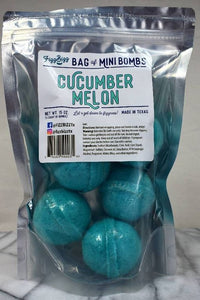 Fizz Bizz - Mini Cucumber Melon Bath Bombs