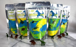 Fizz Bizz - Dinosaur Dirt Kids Bath Salts