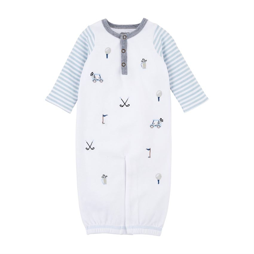 Mudpie- Golf Sleep Gown (0-3m) #11060177