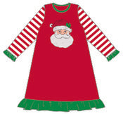 Jane Marie- Kids Saint Nick Red Jammie Gown