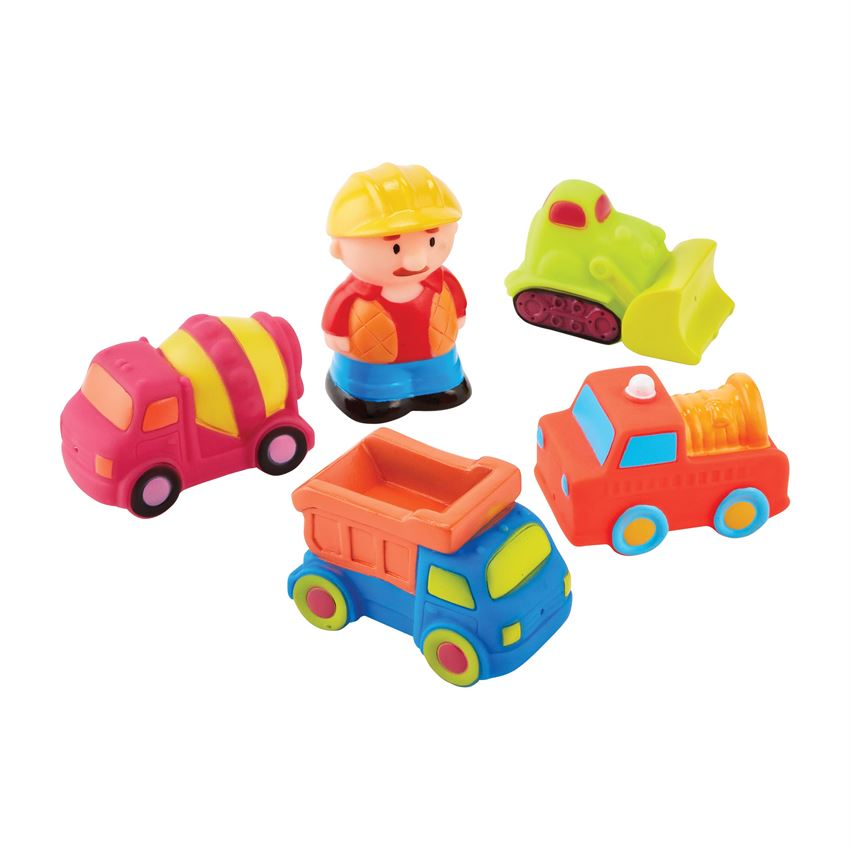 Mudpie- Construction Bath Toy Set #12130069