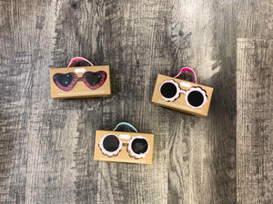 Mudpie- Heart Girl Sunglasses
