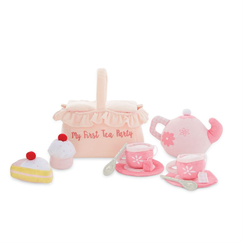Mudpie- My First Tea Party Plush Set #12110168