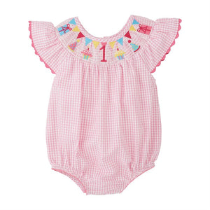 Mudpie- One Smocked Bubble (12/18m) #11030377