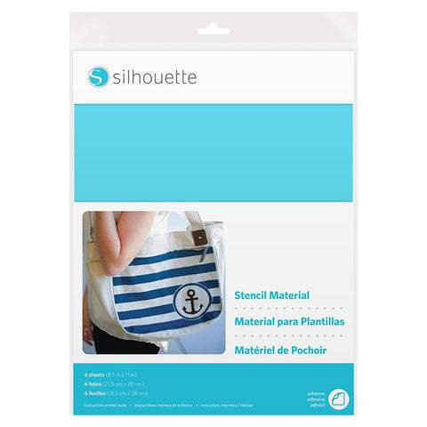 Silhouette Adhesive Stencil Sheets