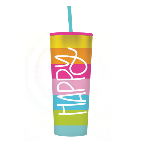"Mary Square-""Happy"" Tumbler Collection"