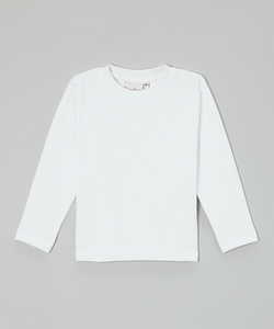 Barefoot White Long Sleeve Shirt