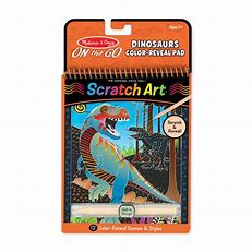 On the Go Scratch Art: Color-Reveal Pad