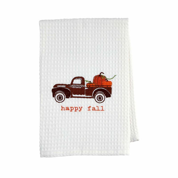 Mudpie- Waffle Thanksgiving Towels #41500119