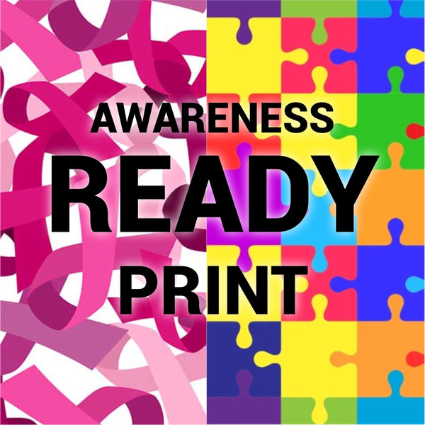 Awareness HTV Ready Prints