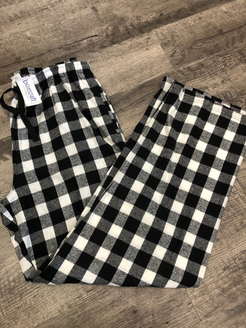 Boxer Craft- Black/White Buffalo Plaid