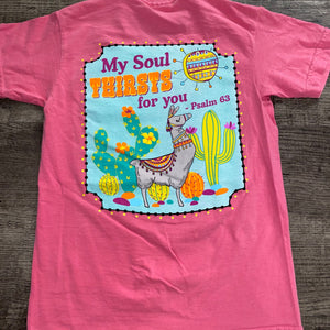Jane Marie- Psalm 63 Youth T-Shirt