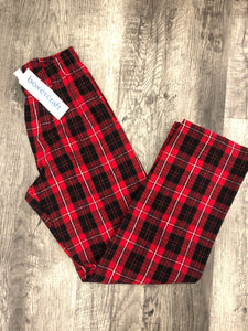 Boxer Craft- Red/White/Black Buffalo Plaid
