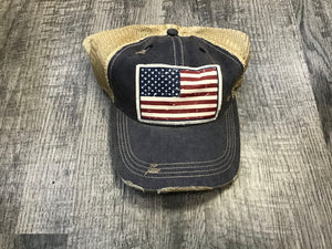 Distressed Vintage Life Hats