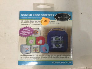 Quilted Door Stoppers