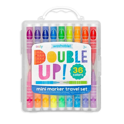 Ooly- Double Up Mini Marker Travel Set