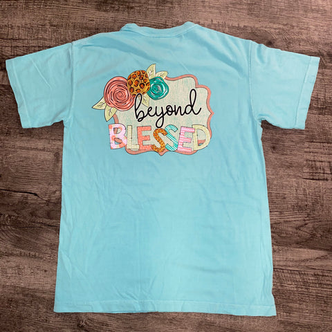 Jane Marie- Beyond Blessed T-Shirt