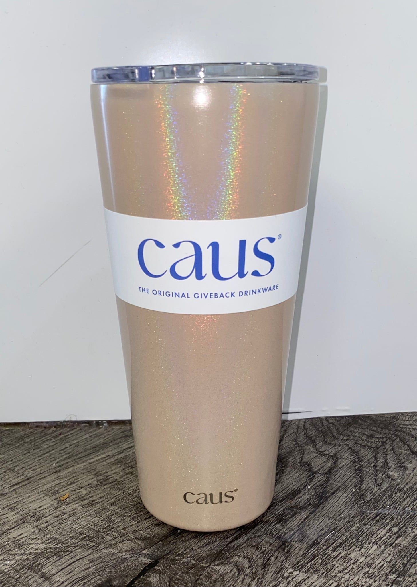 "Caus- ""Pop The Bubbly"" Tumbler Collection"