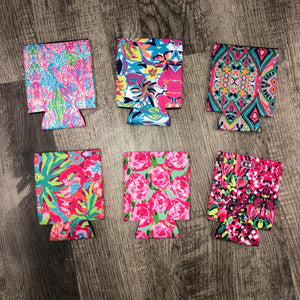 Lilly Inspired Print Regular Koozies