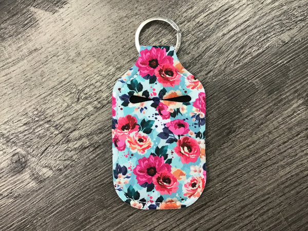 Hand Sanitizer Key Chain