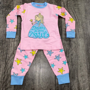 Jane Marie- Dreams Do Come True Star Kids Pajama Set