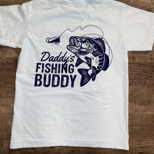 Jane Marie- Daddy's Fishing Buddy Youth T-Shirt