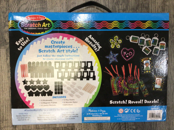 Scratch Art Deluxe Party Pack