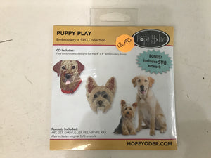 Puppy Play Embroidery