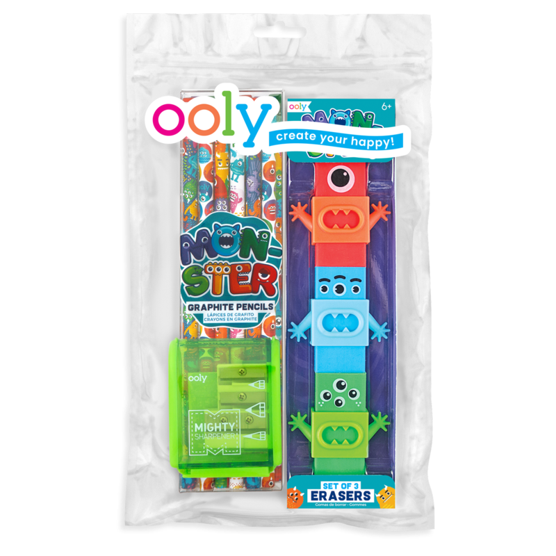 Ooly- Monsters Happy Pack