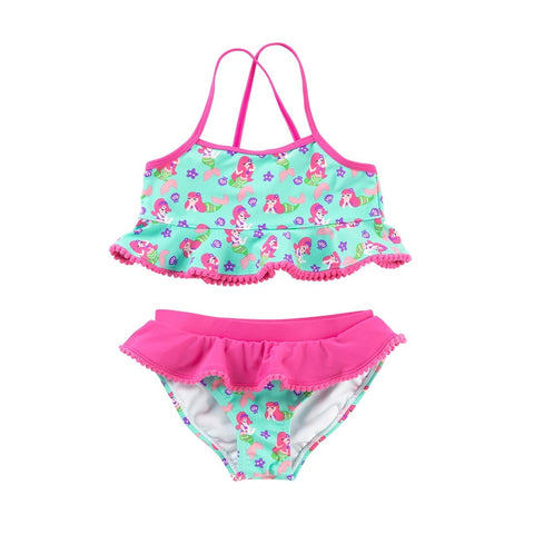 Viv & Lou Mermaid Kiss Girls Swim Set