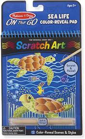 Sea Life Color-Reveal Pad